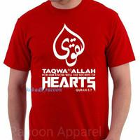 kaos/baju/tshirt ISLAM KATA KATA MUSLIM TAQWA