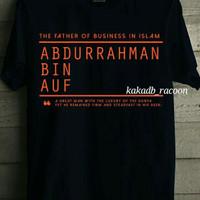 kaos/baju ISLAM ABDURRAHMAN BIN AUF MUSLIM