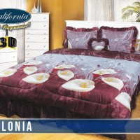 BED COVER SET CALIFORNIA/MY LOVE  HELONIA KING SIZE