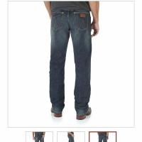 TERLAKU CELANA LIMITED Jeans Wrangler Original not levis cardinal nud