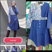 Tunik short dress Tuneeca size S sale murah