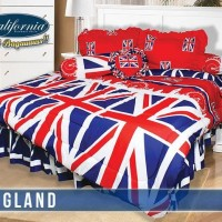 BED COVER SET CALIFORNIA/MY LOVE ENGLAND KING SIZE