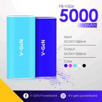 Jual Power bank POWERBANK V-GEN 5000MAH V-504 Termurah Murah