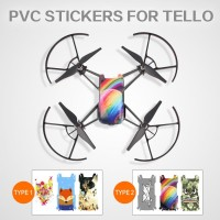 Dji Tello Cool Waterproof PVC Stickers Drone Body Skin Decals
