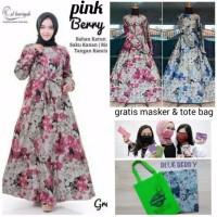 promo murah busana muslim gamis katun jepang baju muslim wanita musli
