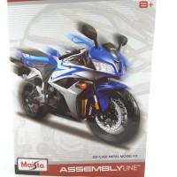 Maisto Assembly Line Motorcycle Model Kit 1/12 Honda CBR 600RR Blue