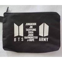 BTS Tas pensil kosmetik bag pouch kpop tempat alat tulis bangtanboys b
