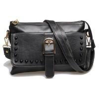 Harga mysun id tas selempang mini sling bag hitam wanita ori stud byy | Pembandingharga.com