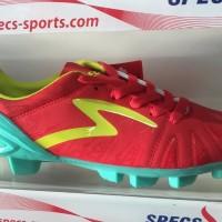 DISCON Sepatu bola specs tomahawk fg red slime 2016 new model origina