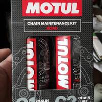 Motul Chain Mantenance Kit (Lube + Cleaner) Discount Habis