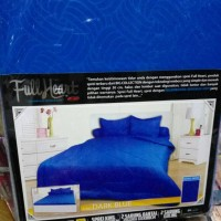 gorden korden selimut) Sprei My Love Full Heart Dark Blue 180x200x30