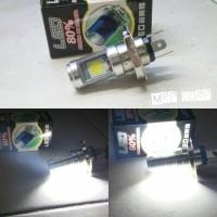 H4 LED Lampu utama motor 2sisi COB NEW