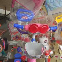 Sepeda anak balita roda tiga Family 319 HT jagaan dorongan KHUSUS PINK