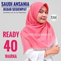 TERMURAH - Saudia Ansania Square Rawis/Jilbab Segiempat/Hijab Segiempa