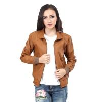 terbaru jaket kulit wanita jaket motor wanita inficlo SDN 453 e448b89c43