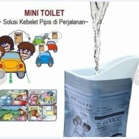 Mini Toilet Kantong Pipis Travel Disposable Urinal Bag Urine WC Bags