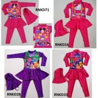 Baju Anak Perempuan Kaos Cewek RENANG MODEL MUSLIM - UKURAN M, L, XL