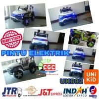 [EXPEDISI] Unikid UK692 Jeep War Wolf Pintu Elektrik Mainan Mobil Aki