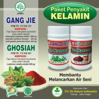 Paket Gho Siah Dan Gang Jie Asli dari De Nature Obat Sipilis