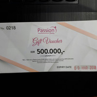 Voucher Passion Jewelry