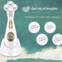Intrumens alat kecantikan setrika wajah penetrasi serum RF& EMS messo
