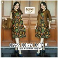Dress Batik Bolero