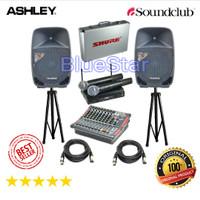 Paket Sound System SoundClub S155P Original 15 inch - Bluetooth - USB
