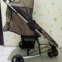 Stroller BabyElle Cokelat Second - Kereta Dorong Bayi Bekas