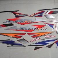 Striping lis&Stiker Body&Stiker Motor Satria Fu 2005 Thailand