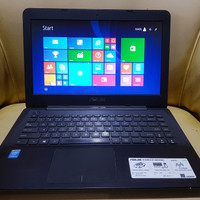 LAPTOP SLIM DESAIN ASUS X455L CORE I3 HASWELL RAM 4GB HDD 500GB