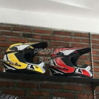 LIMITED! HELM MOTOR CROSS ZEUS  ZS 951 RR11 RED SUPERMOTO TRAIL DISKON