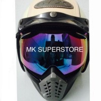 LIMITED! KACAMATA CROSS GOGGLE MASK ALIEN GOOGLE RETRO CAKIL BOGO