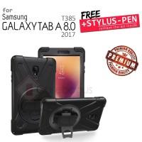 Samsung Galaxy Tab A 8 8.0 2017 T385 - Strap Full Protect Armor Case
