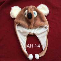 Animal Hat , topi binatang ,topi lucu. FREE LENSA SUPERWIDE/FISHEYE