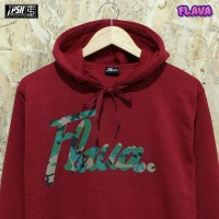 Sweater Flava Merah Army