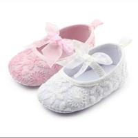 PW46 - Prewalker flower baby sepatu bayi cewek