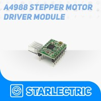 A4988 Bipolar 4-wire Stepper Motor Driver CNC with Heatsink