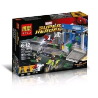 Seru!! mainan anak lego spiderman bela 10742 brick sy super