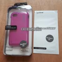 CAPDASE Polimor Jacket BlackBerry Q5 Fushia Ungu + Anti Gores