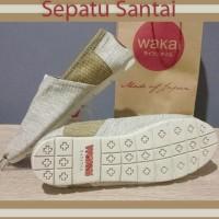 Jual Sepatu Wakai Slip On Sepatu Santai Pria Wanita Wkg04 - Ivory, 36