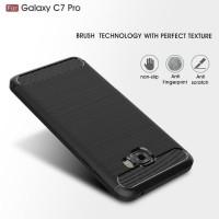 Dijual Samsung C7 C9 Pro Spigen Like Cover Softcase Carbon Hp Case