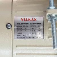 Jual Dinamo Mesin Jahit Industrial 250 Watt Yuasa (Clutch Motor) Unik