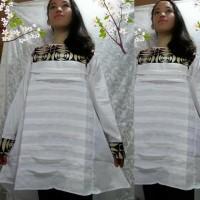 Jual Tunik /Baju Muslim/Atasan Etnik/Blous Tenun Murah