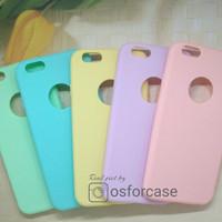 Softcase Pastel Iphone 5 5s SE 6 6s 6+ 6s+ 7 7+ Plus 8 8+ X Soft Case