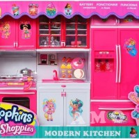 MODERN KITCHEN SET BESAR SHOPKINS MAINAN MASAKAN