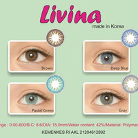 (BROWN) SOFTLENS SOFTLEN SOFLEN LIVINA (BROWN)