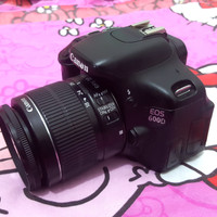 Kamera Dslr Canon 600D Fullefek
