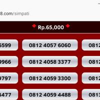 Jual nomor cantik simpati kartu perdana telkomsel nocan 11 digit murah gsm Murah