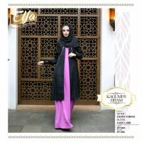 promo murah gamis ethica kagumi 91 size S M L wanita muslim