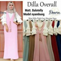 HU - 1302 Dress murah / Baju gamis sehari hari / Pakaian hijaber :